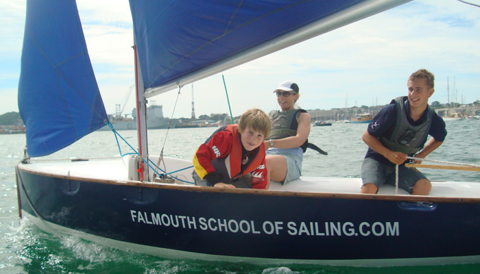 Cornwall taster sailing course