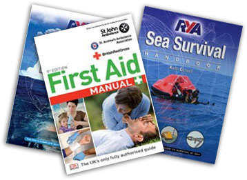 First aid training books for sailing