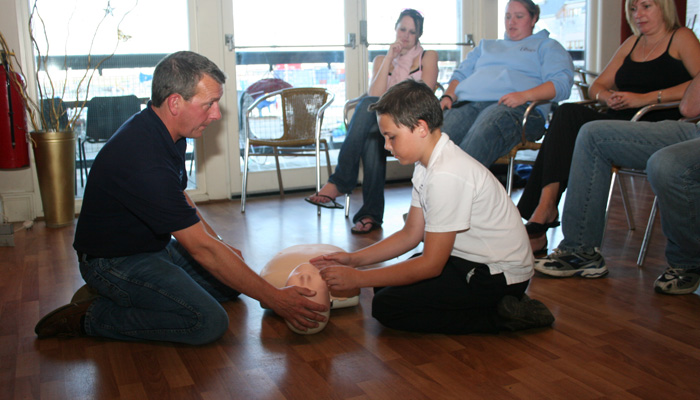 First Aid training Falmouth