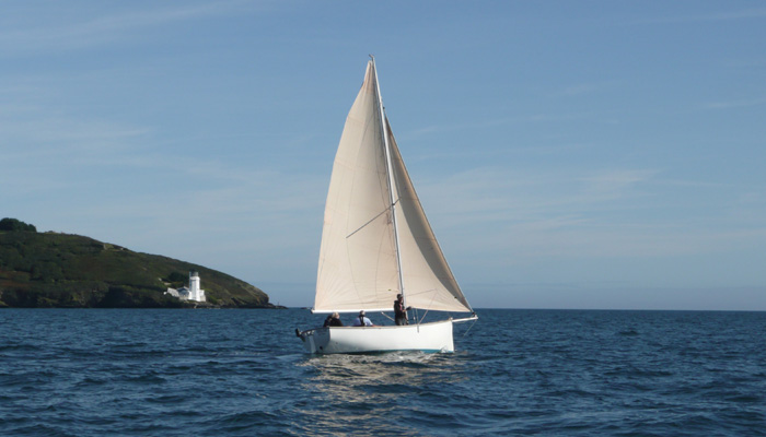 Keelboat Sailing training Cornwall