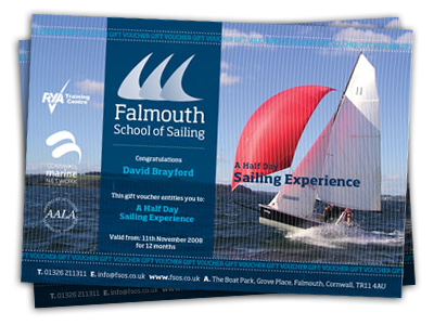 Sailing Course Vouchers