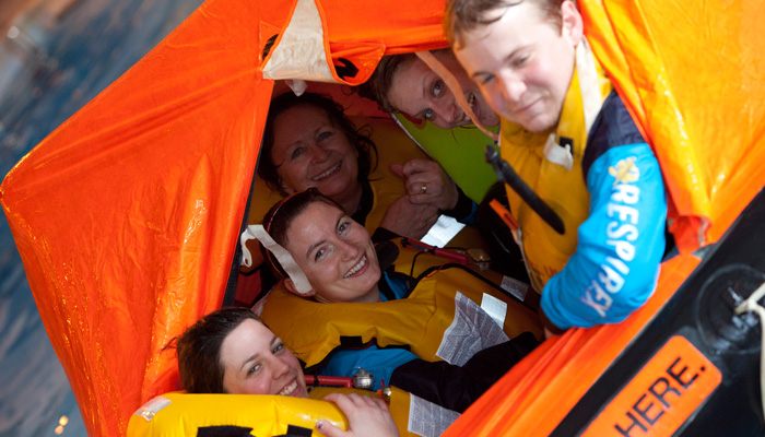 Sea Survival course in Cornwall