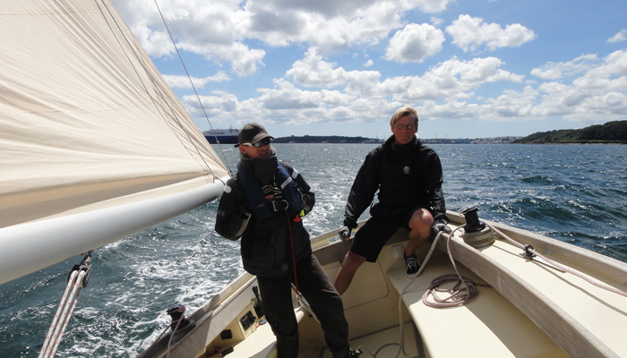 Keelboat tuition South West