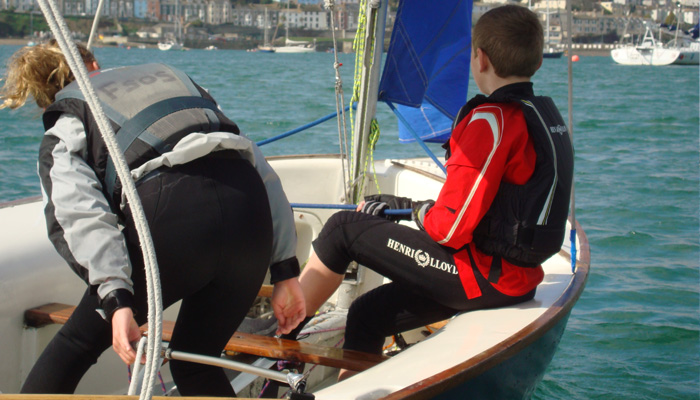 One to one sailing course