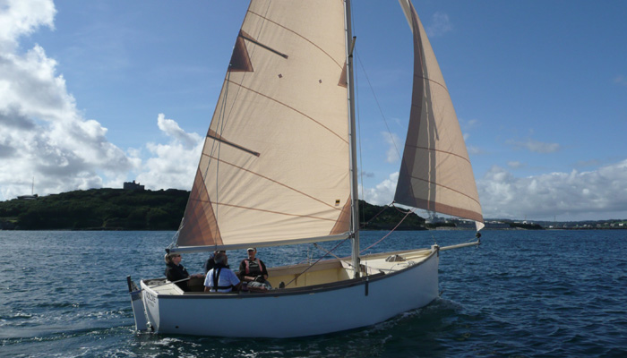 Keelboat 2 day course in Cornwall