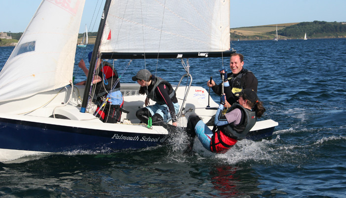 Cornwall RYA day Sailing course in Falmouth