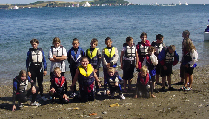 Junior Sailing Course in Falmouth