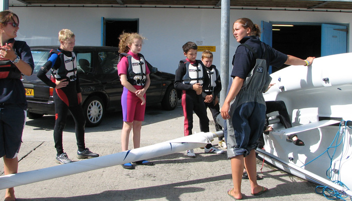 Junior sailing courses in the south west