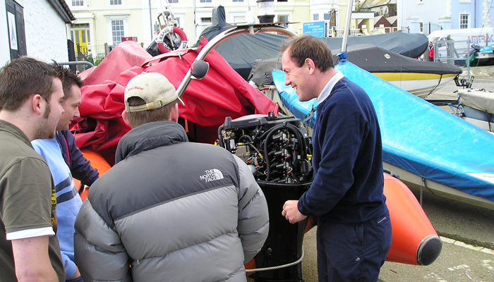 Falmouth School Of Sailing Outboard Maintenance