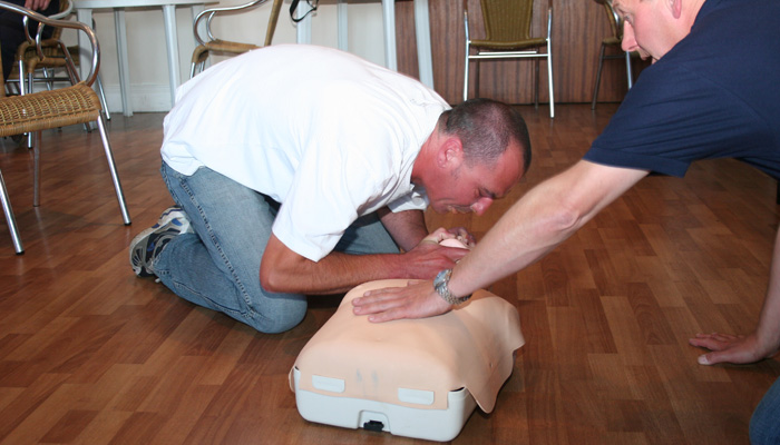 First Aid course in Falmouth