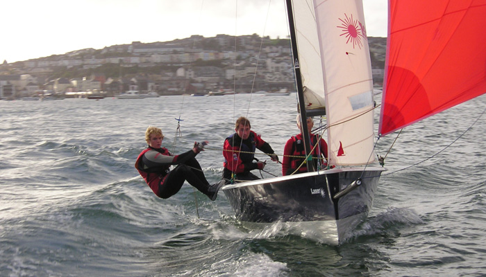 Dinghy Sailing tuition Cornwall