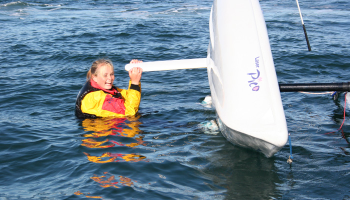 RYA Basic Sailing Skill course in Falmouth, Cornwall